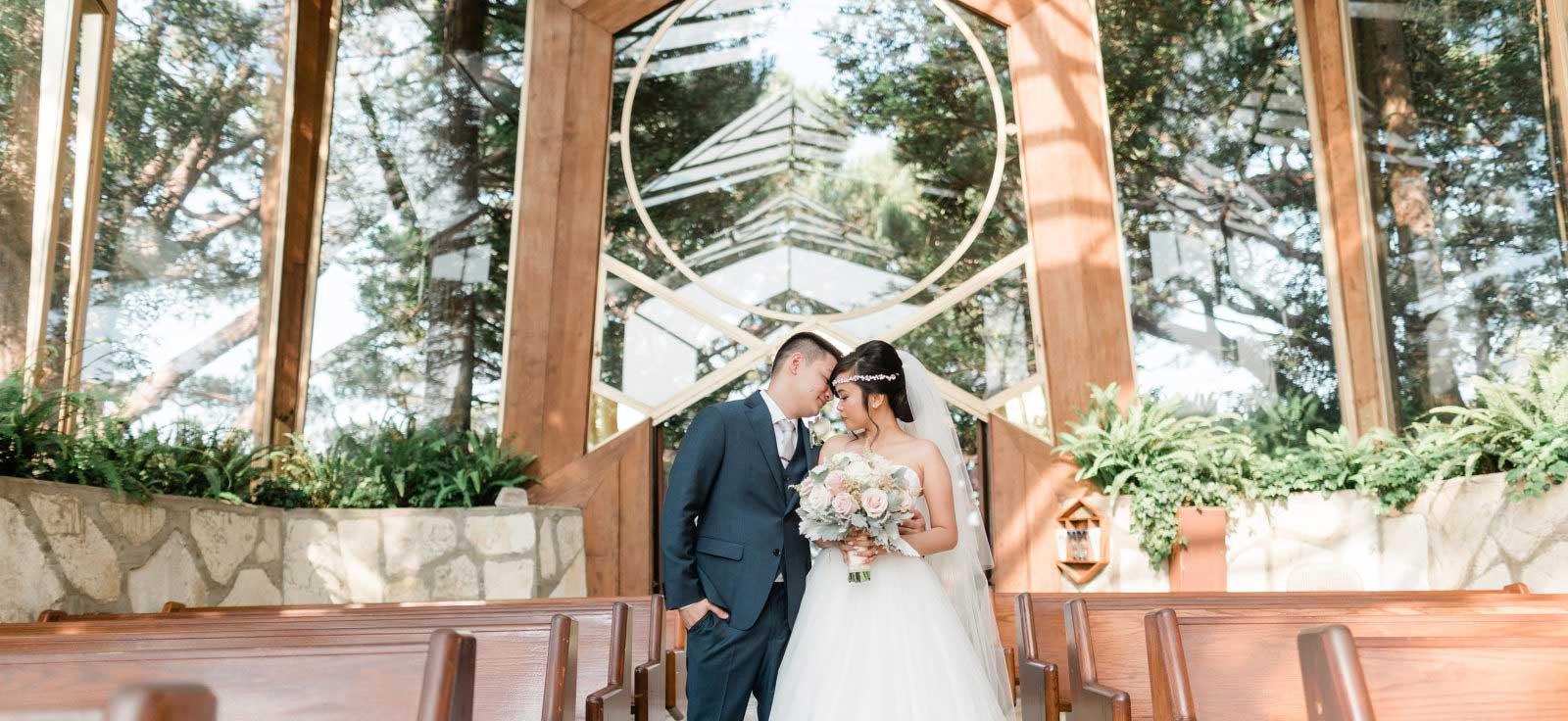 Wayfarers Chapel Wedding 1